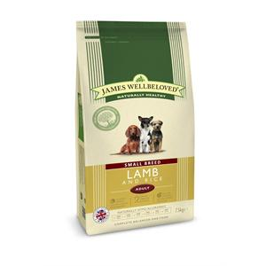 JAMES WELLBELOVED LAMB & RICE SMALL BREED ADULT DOG 7.5KG Image 1