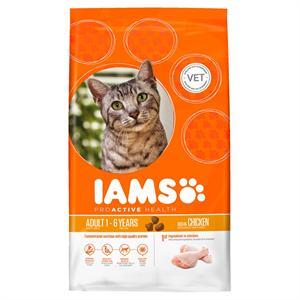IAMS ADULT CAT FOOD with SAVOURY ROAST CHICKEN 10KG   Image 1