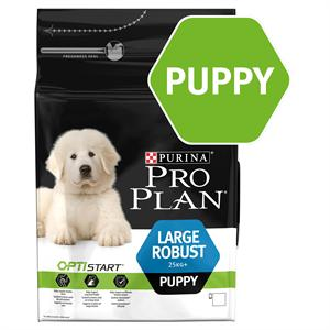 PRO PLAN LARGE ROBUST PUPPY FOOD with Optistart - Rich in Chicken 12KG Image 1