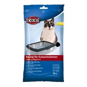 TRIXIE LITTER TRAY BAGS LARGE 46X59CM 10 PACK Image 1