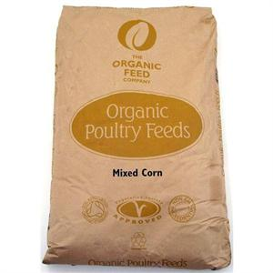 ALLEN & PAGE ORGANIC MIXED CORN 20KG Image 1