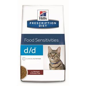 HILLS PRESCRIPTION DIET D/D FELINE VENISON & GREEN PEA 1.5KG Image 1