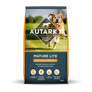 AUTARKY MATURE/LITE DOG FOOD 12KG Delicious Chicken Image 1