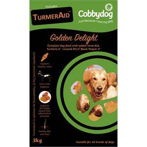 Cobbydog Golden Delight Dog Food 12 Image 1