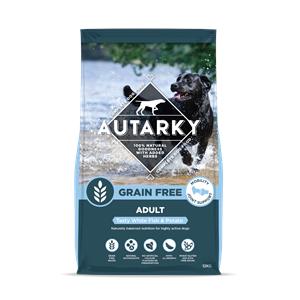 Autarky Adult Dog Food Whte Fish & Potato 12kg Image 1