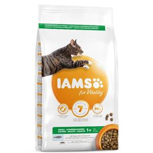 IAMS CAT ADULT with WILD OCEAN FISH & CHICKEN 10KG   Image 1