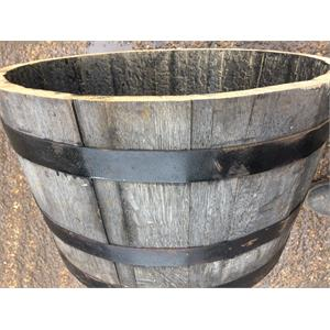 OAK HALF BARREL  Image 1