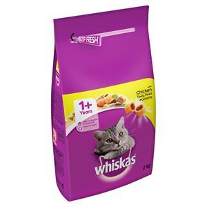 Whiskas 1+ Adult Cat Complete - Chicken 2kg Image 1