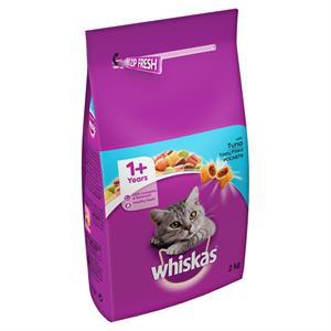 Whiskas 1+ Adult Cat Complete - Tuna & Veg 2kg Image 1