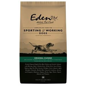 EDEN 80/20 SMALL ORIGINAL CUISINE WORKING & SPORTING DOG 15KG Image 1