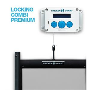 Chickenguard Locking Door Kit & Premium Door Opener Combi Image 1
