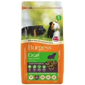 BURGESS EXCEL GUINEA PIG FOOD NUGGETS 2KG Image 1