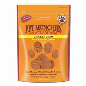 PET MUNCHIES CHICKEN CHIPS 100G (Save 20% off RRP) Image 1