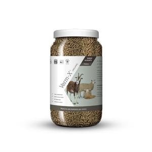 VERM X HERBAL PELLETSX FOR SHEEP AND GOATS 1.5KG TUB Image 1