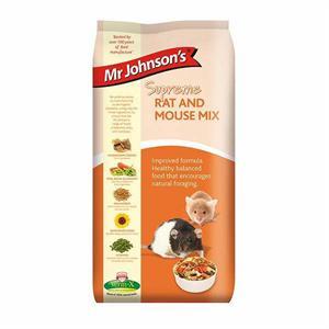 MR JOHNSON'S SUPREME RAT AND MOUSE MIX 900G Image 1