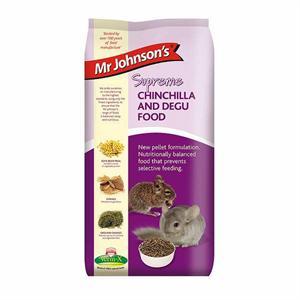 MR JOHNSON'S SUPREME CHINCHILLA AND DEGU MIX 900G Image 1