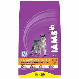 IAMS PROACTIVE HEALTH DOG SENIOR & MATURE CHICKEN 3KG  Image 1
