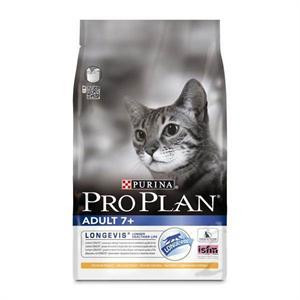pro plan adult cat food 7+ longevis 3kg