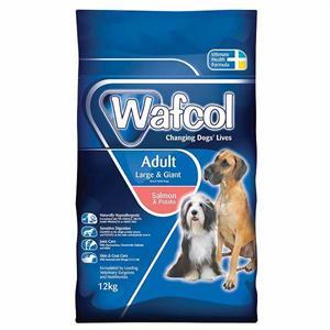 WAFCOL ADULT SALMON & POTATO LARGE & GIANT BREED DOG FOOD 12KG Image 1