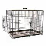 MIKKI TWO DOOR DOG CRATE LARGE 107*74*83cm thumbnail