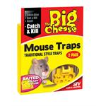 THE BIG CHEESE STV100 BAITED RTU MOUSE TRAP (TWIN PACK) thumbnail