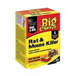 THE BIG CHEESE RAT & MOUSE KILLER BAIT PACKS (5 X 40G) thumbnail