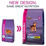 EUKANUBA PUPPY 1-24 MONTHS LARGE BREED rich in chicken 3KG thumbnail