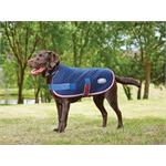 WEATHERBEETA QUILTED DOG RUG - NAVY/RED/WHITE thumbnail