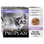 PRO PLAN NUTRI SAVOUR JUNIOR 10*85G (TURKEY IN GRAVY) thumbnail