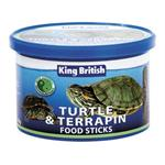 KING BRITISH TURTLE & TERRAPIN FOOD STICK 110G thumbnail