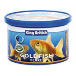 KING BRITISH NATURAL GOLDFISH FLAKE WITH (IHB) 55G thumbnail