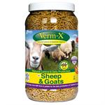 VERM X HERBAL PELLETS FOR SHEEP AND GOATS 2.25KG TUB thumbnail