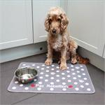 DINNER MATE FOOD MAT DOTTY GREY 40*60cm thumbnail