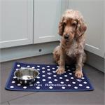DINNER MATE FOOD MAT DOTTY BLUE 40*60cm thumbnail