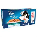 FELIX As Good as it Looks Pouch Ocean Feasts Variety Pack 40 x100G thumbnail