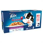 FELIX As Good as it Looks Pouch Senior Variety Pack 40 x 100g thumbnail