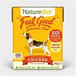 Naturediet Feel Good Chicken 18 x 390g thumbnail