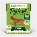 Naturediet Feel Good Lamb 18 x 395g thumbnail
