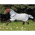 Amigo Bug Buster Vamoose Fly Rug Silver and Navy  thumbnail