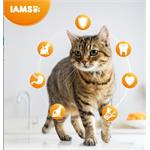 IAMS ADULT CAT FOOD with SAVOURY ROAST CHICKEN 10KG   Thumbnail Image 1
