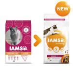 IAMS SENIOR & MATURE CAT FOOD  7+ YEARS 10KG thumbnail