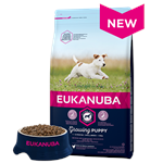 EUKANUBA GROWING PUPPY SMALL BREED RICH IN CHICKEN 3KG thumbnail