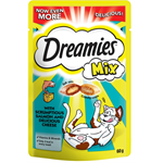 DREAMIES CAT TREATS 60G - SALMON & DELICIOUS CHEESE thumbnail