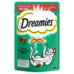 DREAMIES CAT TREATS 60G TANTALISING TURKEY FLAVOUR thumbnail