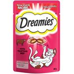 DREAMIES CAT TREATS 60G - BEEF FLAVOUR  thumbnail