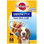 56 PACK PEDIGREE DENTASTIX MEDIUM DOG thumbnail