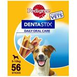 56 pack PEDIGREE DENTASTIX SMALL DOG thumbnail