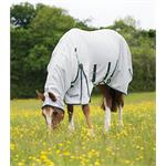SHIRES SWEET-ITCH COMBO FLY RUG - WHITE thumbnail