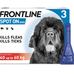 FRONTLINE SPOT ON 4.02ML X LGE DOG 3 PACK (40-60kg) thumbnail