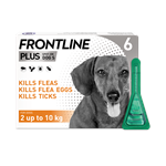 FRONTLINE PLUS SPOT ON FOR SMALL (2-10KG) DOGS 6 PACK thumbnail